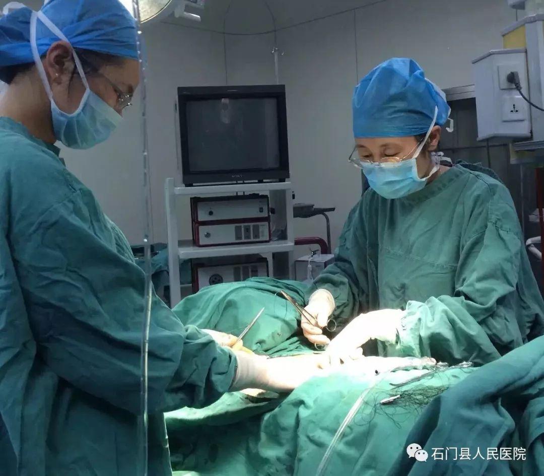 手术棒!视频制作也棒!常德石门县视频人民妇科撮医院隠图片